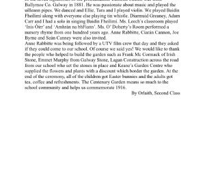 1916 in Kiltiernan…..